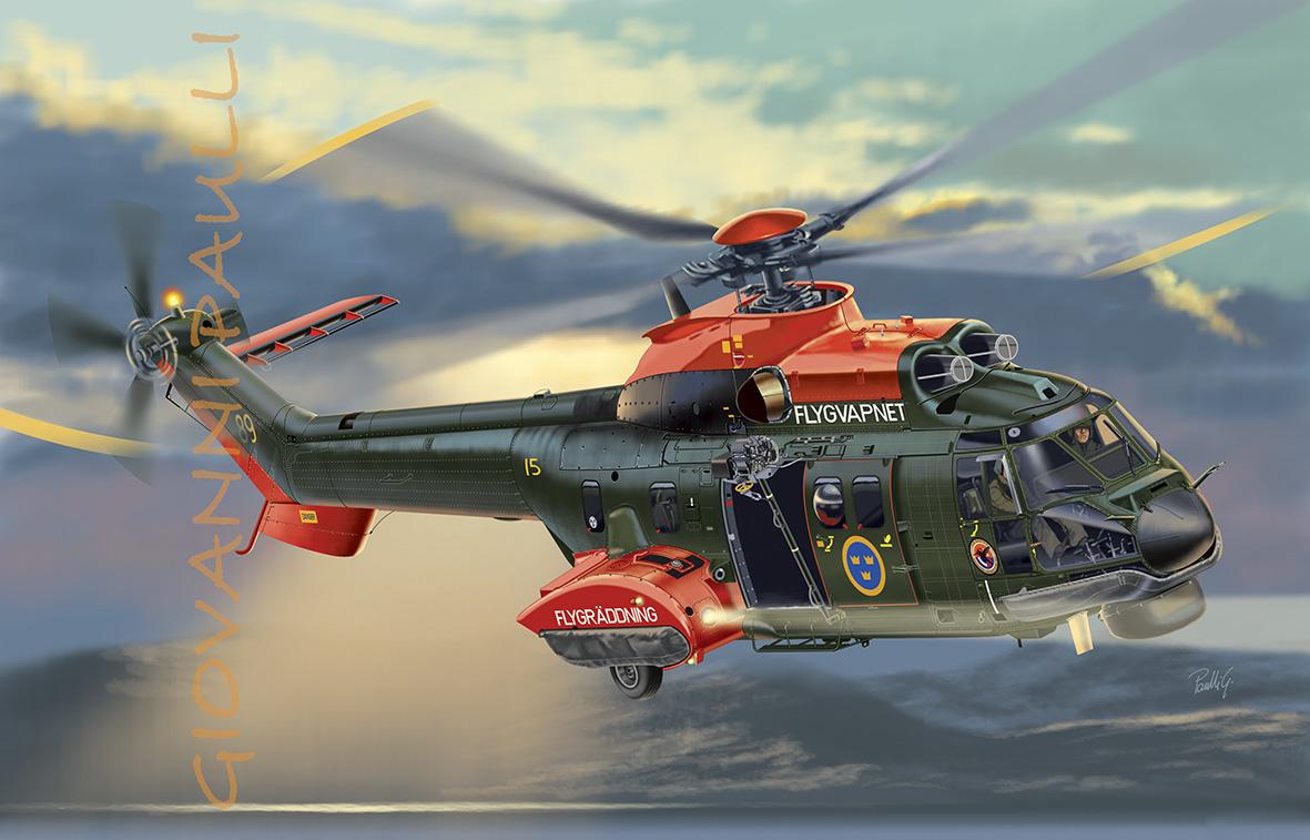 Aerospatiale AS-332M1 Super Puma