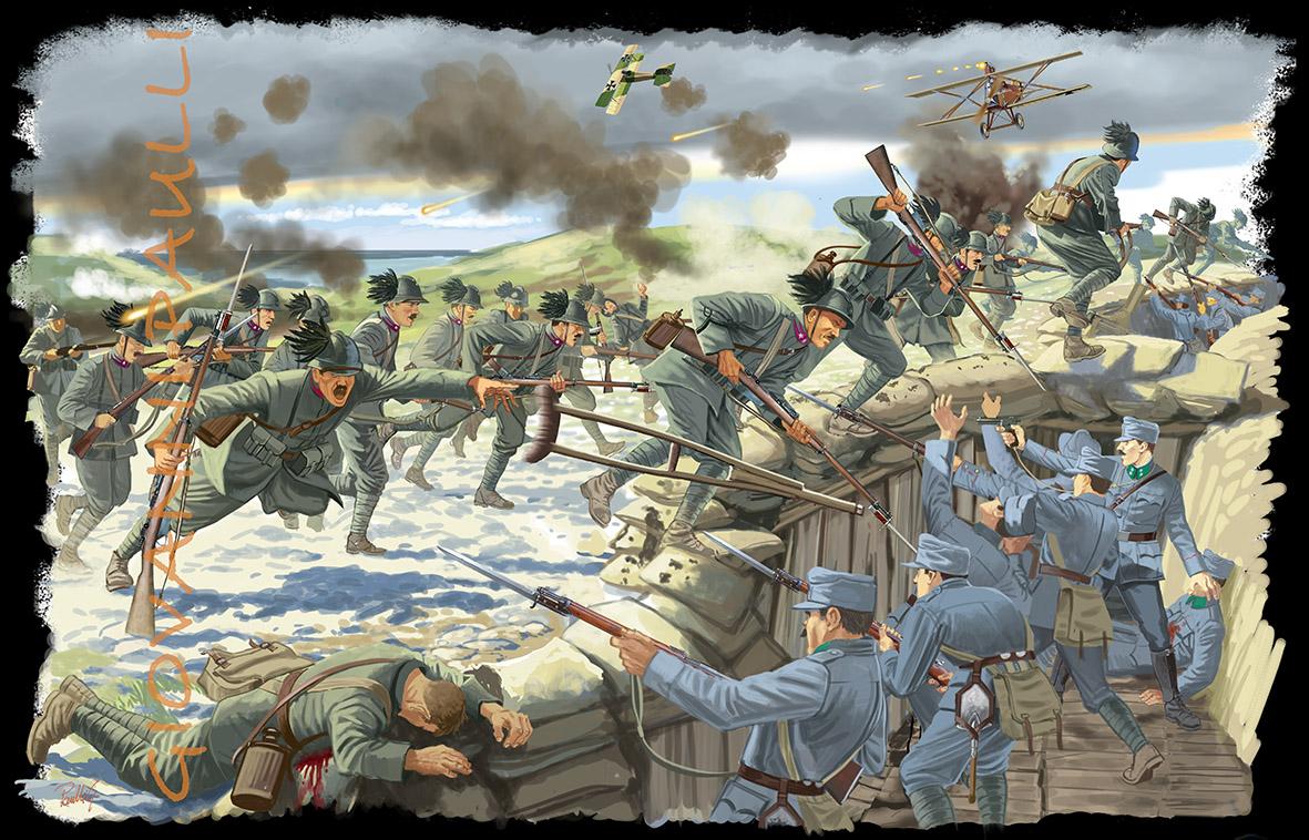 E. Toti the last assault