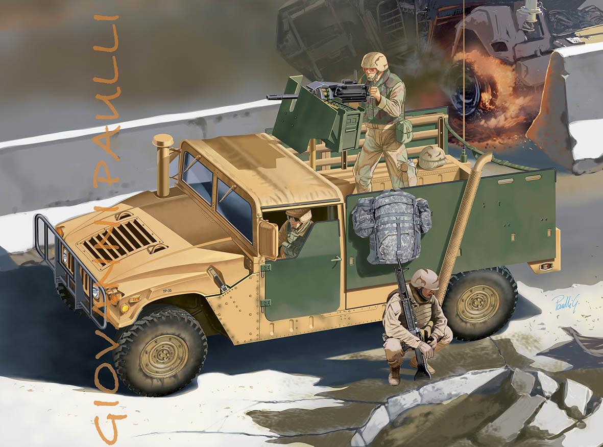 Hummer M998A1