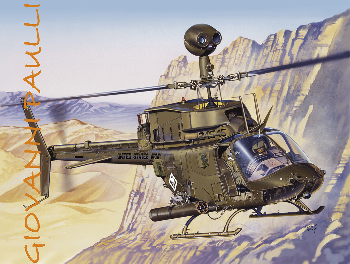 OH-58 D Punisher