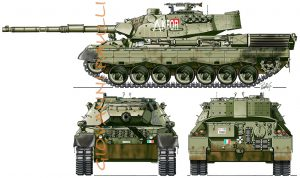 Leopard 1 A5 Italy KFOR