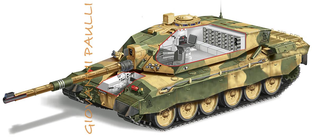 Main battle tank Challenger