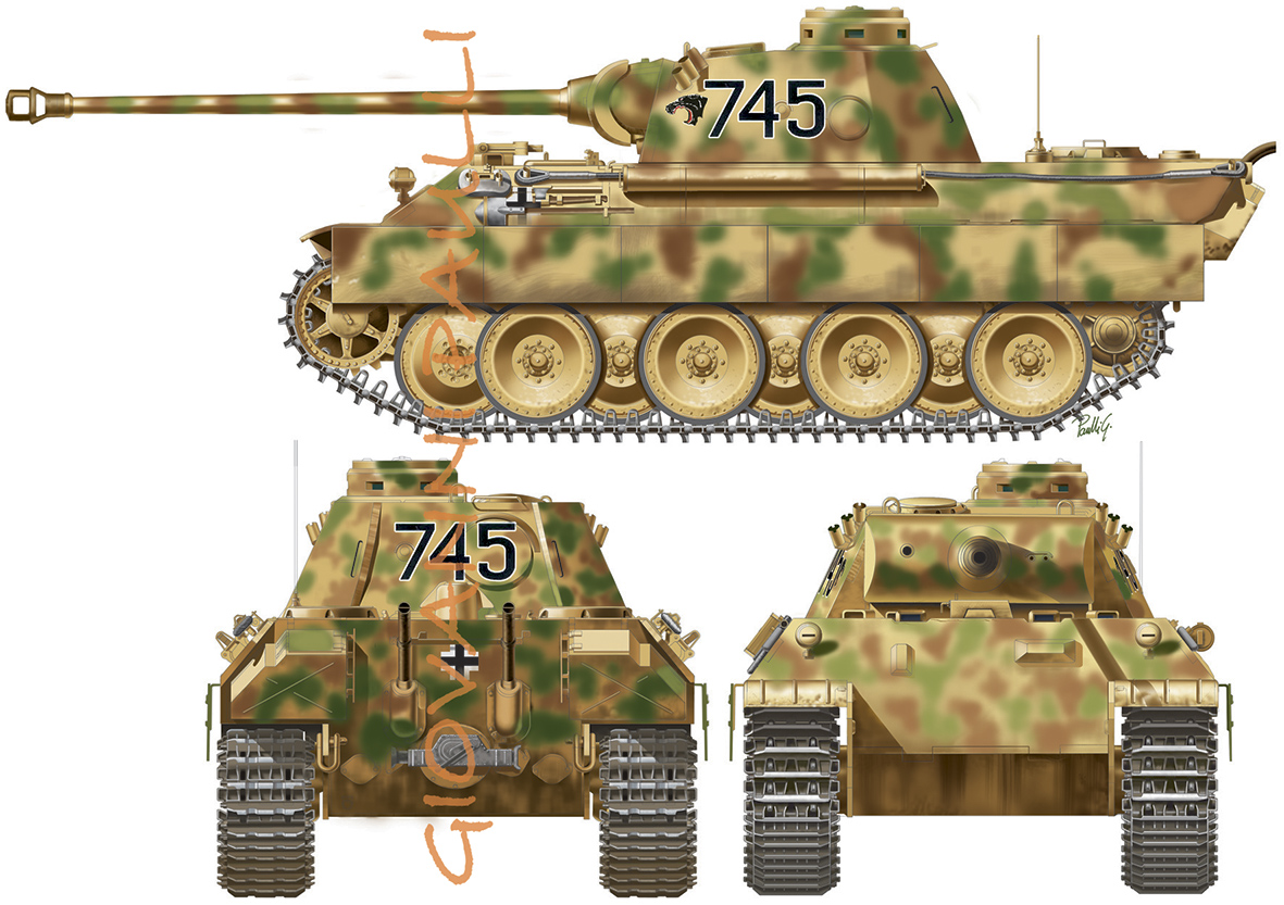 PzKpfw. V Panther Ausf.D