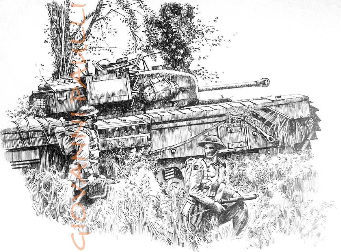 Tank Churchill