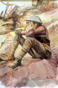 A brit soldier
