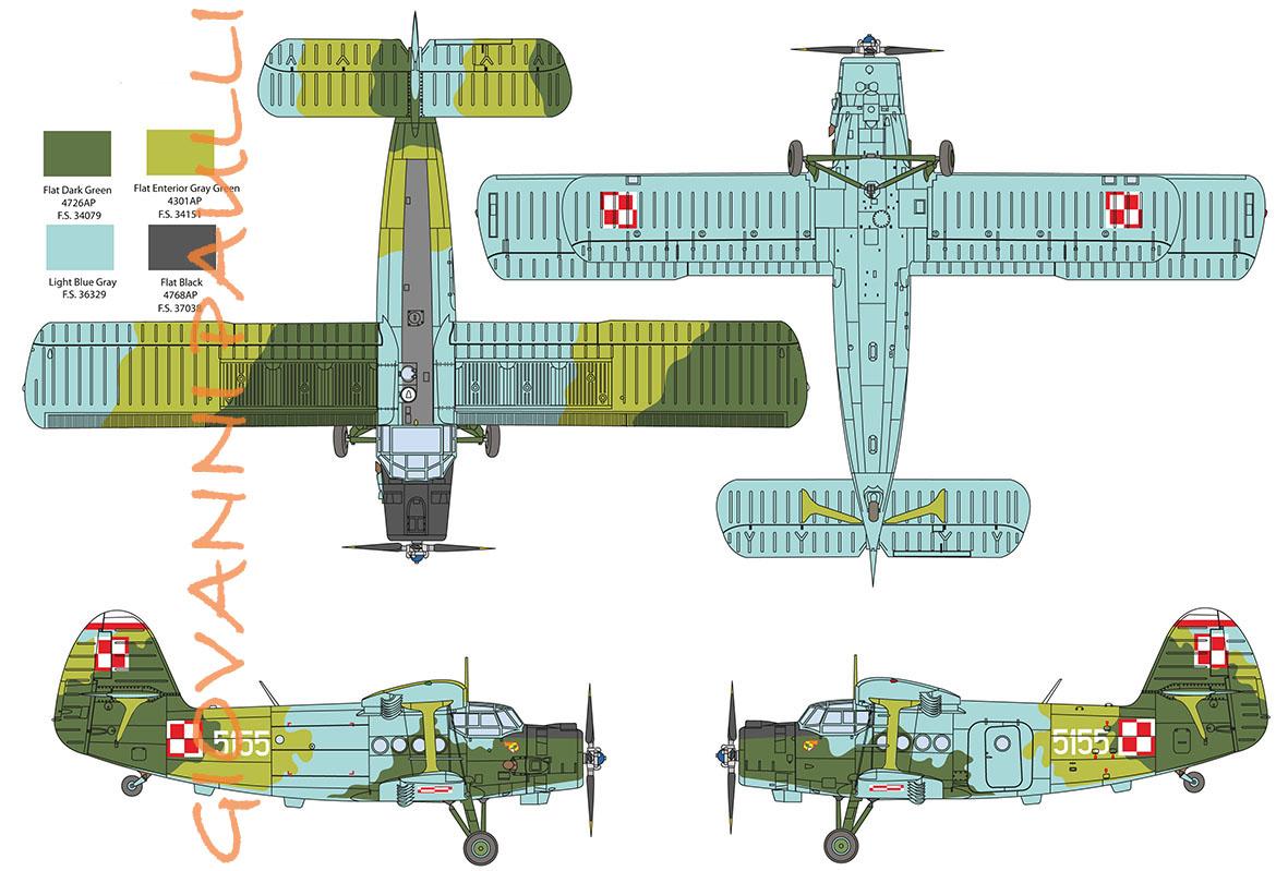 An 2 Polish Air Force