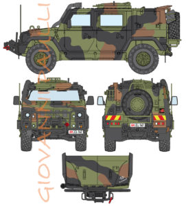 Iveco Lince Italian Air Force