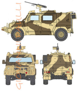 Iveco Lince Italian Marines S.Marco