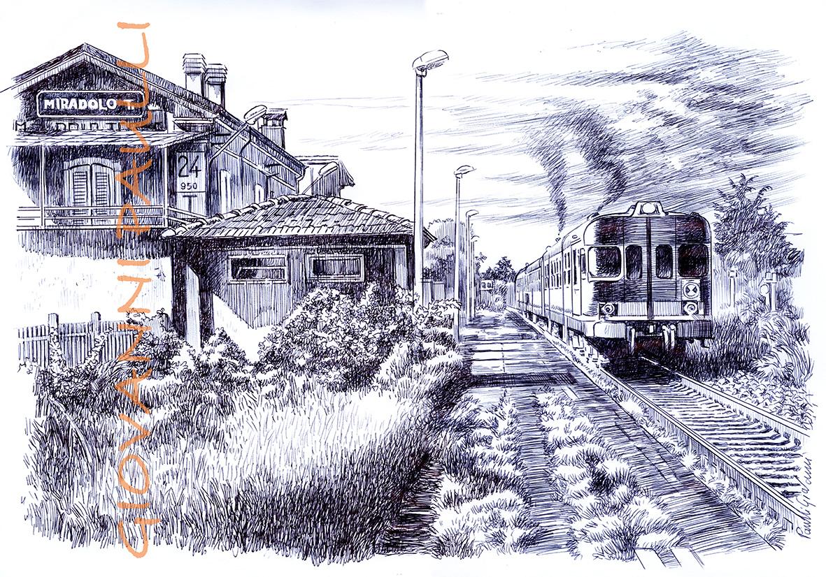Station Miradolo Terme