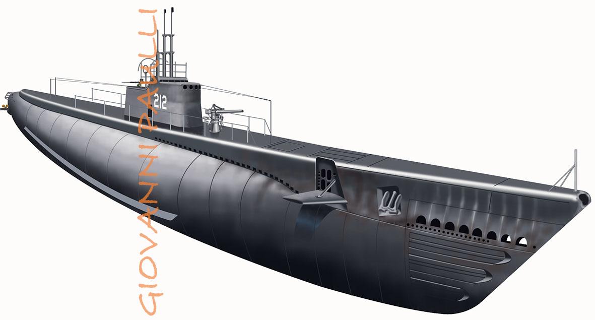 Submarine Gato class