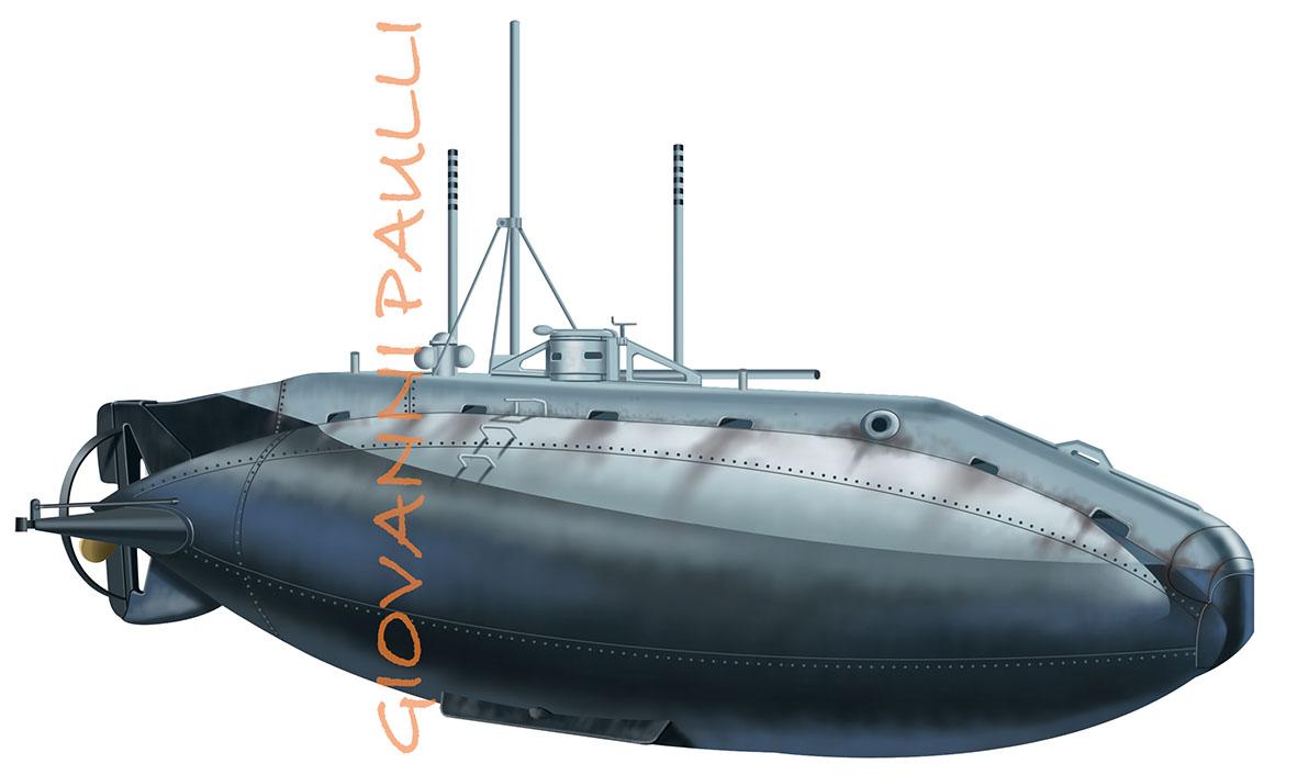 Submarine Holland