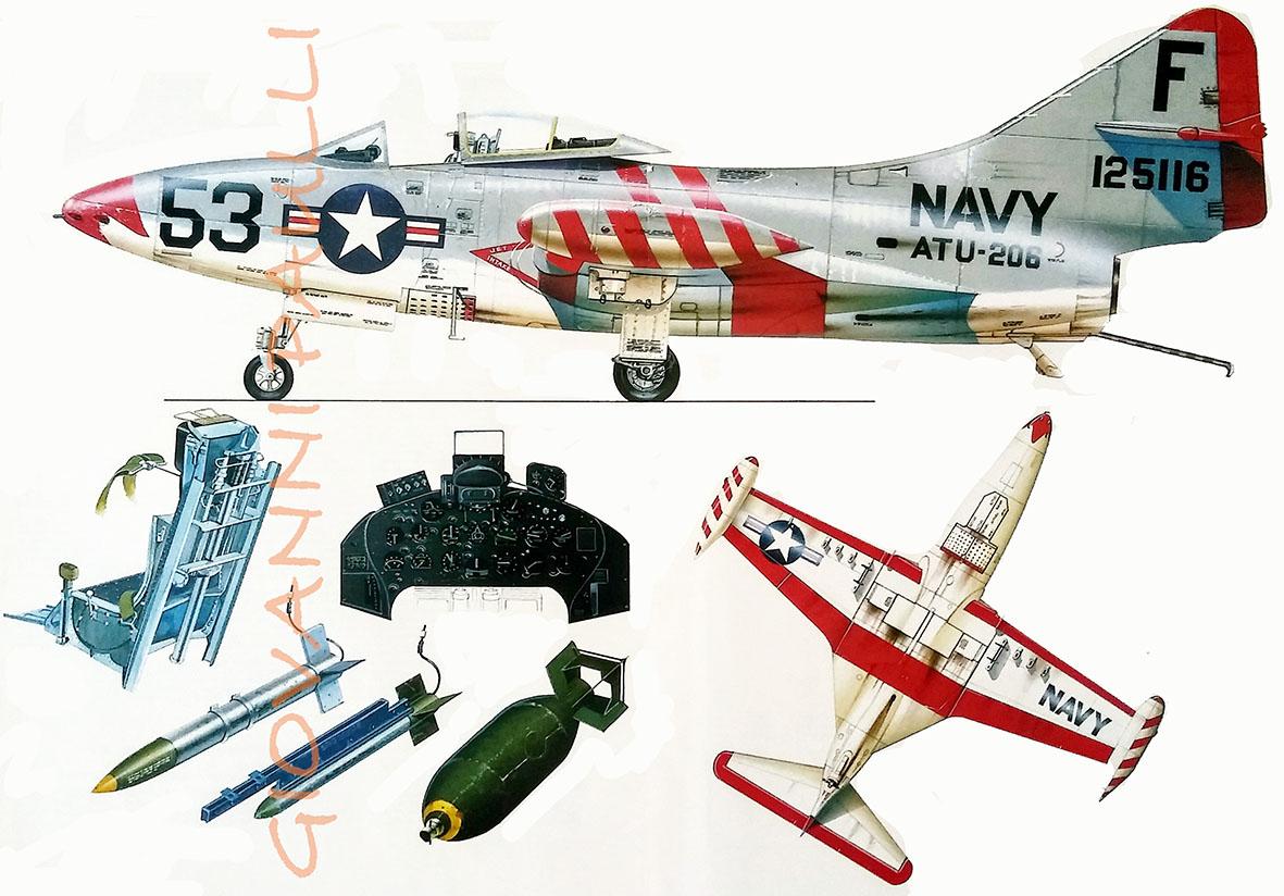 Grumman F 9F Panther